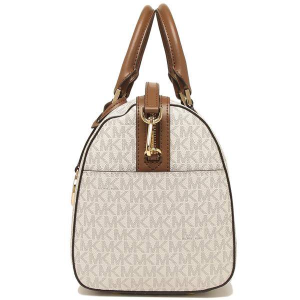 Michael Kors Boston bag shoulder bag outlet Lady's MICHAEL KORS 35H8GYEU3B VANILLALUGG white