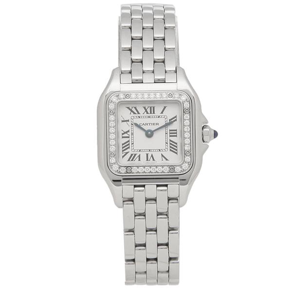 【26時間限定ポイント10倍】カルティエ 腕時計 レディース CARTIER W4PN0007 シルバー
