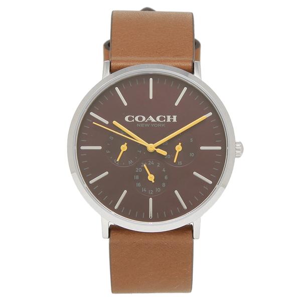 【6時間限定ポイント10倍】【返品OK】コーチ 腕時計 メンズ COACH 14602388 ブラウン