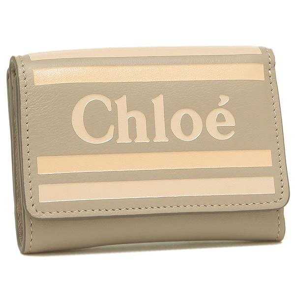 【4時間限定ポイント10倍】【返品OK】クロエ 折財布 レディース CHLOE CHC19UP076A88 089 グレー
