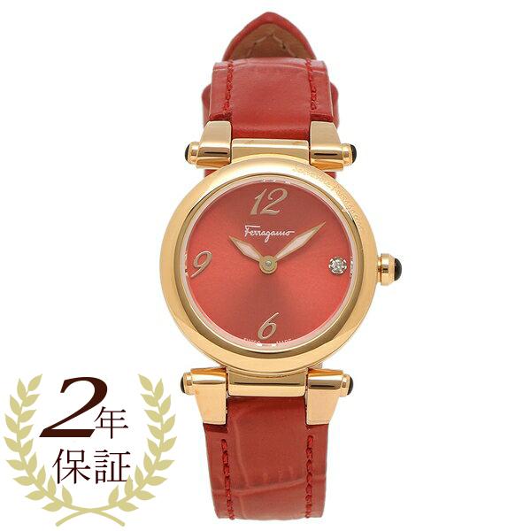 【返品OK】フェラガモ 腕時計 レディース Salvatore Ferragamo SFEY00319 レッド