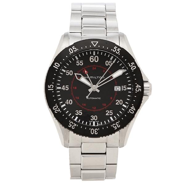 【72時間限定ポイント10倍】【返品OK】ハミルトン 腕時計 メンズ HAMILTON H76755135 シルバー ブラック