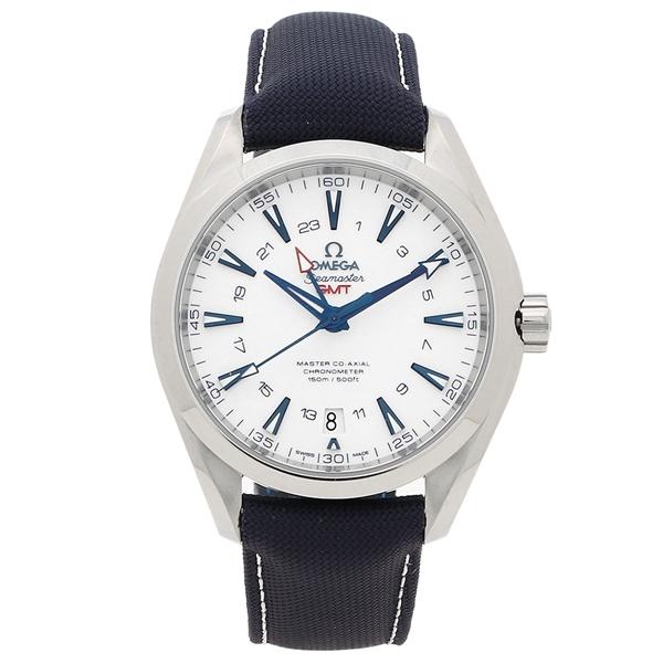 オメガ 腕時計 メンズ OMEGA 23192432204001 ネイビー シルバー