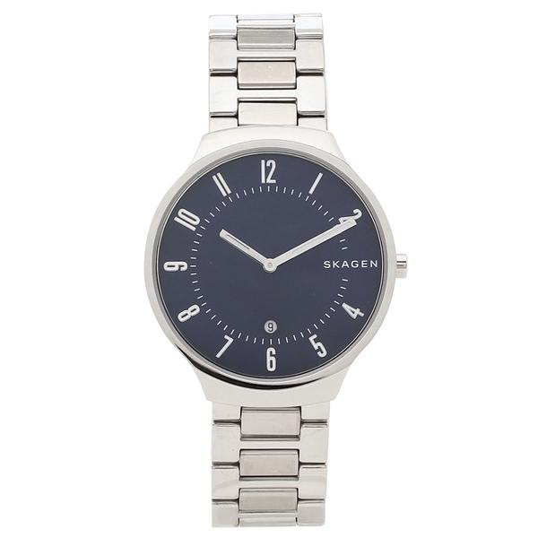 【72時間限定ポイント10倍】【返品OK】スカーゲン 腕時計 メンズ SKAGEN SKW6519 シルバー ブルー