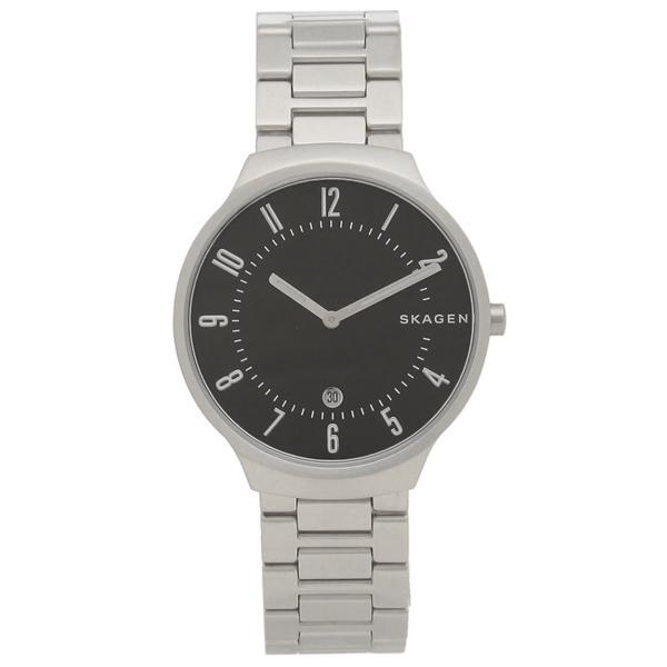 スカーゲン 腕時計 メンズ SKAGEN SKW6515 シルバー ブラック