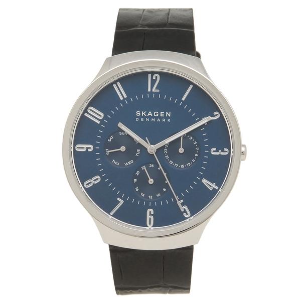スカーゲン 腕時計 メンズ SKAGEN SKW6535 ブラック ブルー