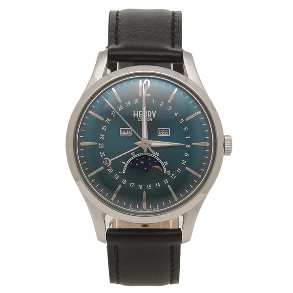 【返品OK】ヘンリーロンドン 腕時計 レディース メンズ KNIGHTSBRIDGE ナイツブリッジ 39MM HENRY LONDON HL39-LS-0071 ネイビー
