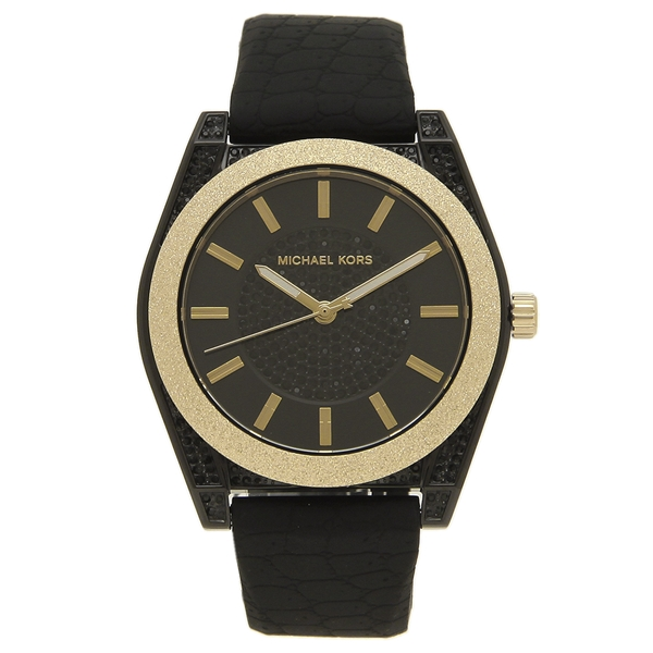 【6時間限定ポイント10倍】【返品OK】マイケルコース 腕時計 レディース MICHAEL KORS MK6703 40MM ブラック ゴールド
