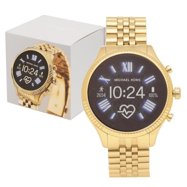 【返品OK】マイケルコース 腕時計 スマートウォッチ レディース MICHAEL KORS MKT5078 MKT5078710 ゴールド