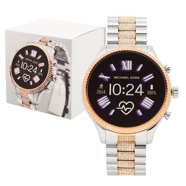 【返品OK】マイケルコース 腕時計 スマートウォッチ レディース MICHAEL KORS MKT5081 シルバー ローズゴールド