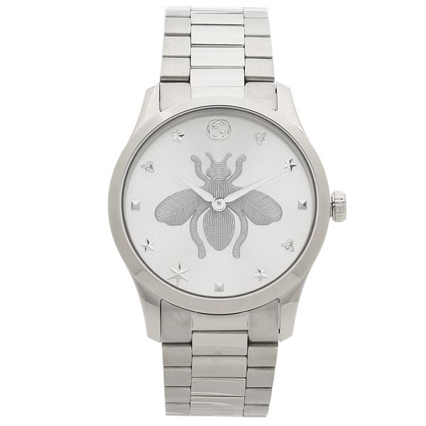 【期間限定ポイント5倍】【返品OK】グッチ 腕時計 レディース メンズ GUCCI YA1264126 38MM シルバー