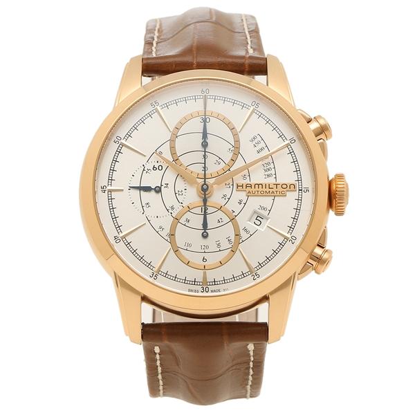 【6時間限定ポイント10倍】【返品OK】ハミルトン 腕時計 メンズ HAMILTON H40676551 44MM ブラウン