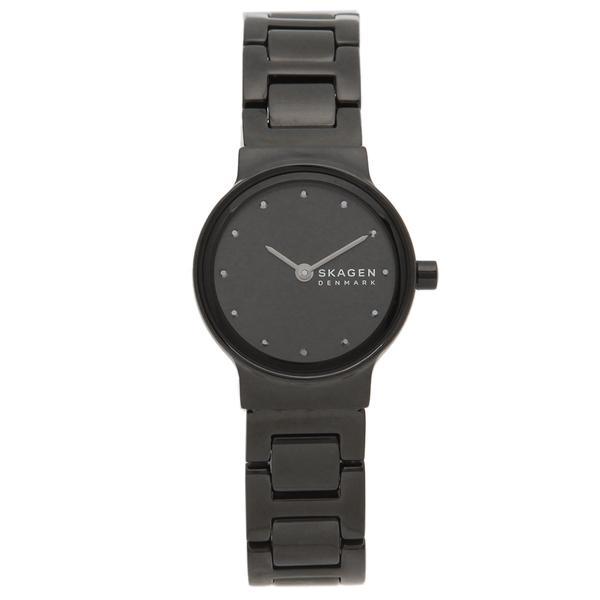 【50%OFFクーポン対象】【返品OK】スカーゲン 腕時計 レディース SKAGEN SKW2830 26MM ブラック