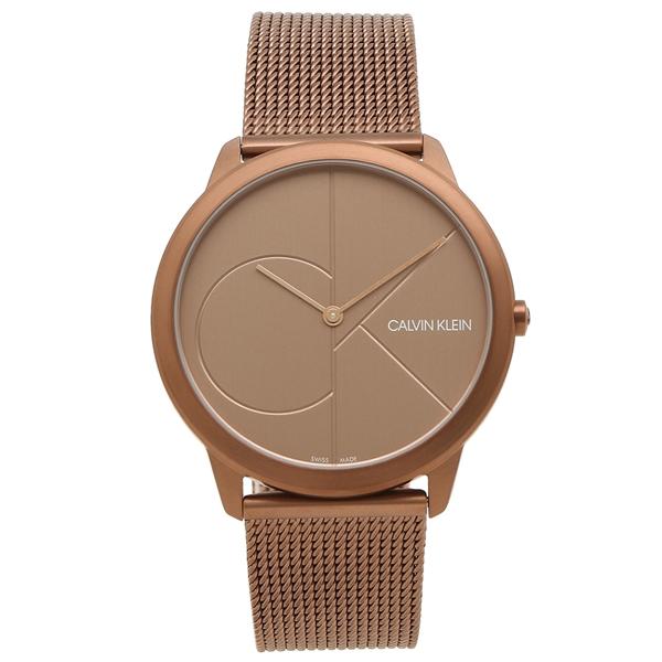 【期間限定ポイント5倍】【返品OK】カルバンクライン 腕時計 メンズ CALVIN KLEIN K3M11TFK 40MM ブラウン