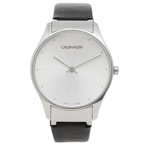 【返品OK】カルバンクライン 腕時計 レディース CALVIN KLEIN K4D221C6 32MM ブラック シルバー