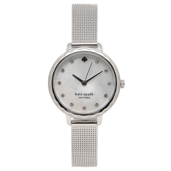 【6時間限定ポイント10倍】【返品OK】ケイトスペード 腕時計 レディース KATE SPADE KSW1573 28MM シルバー