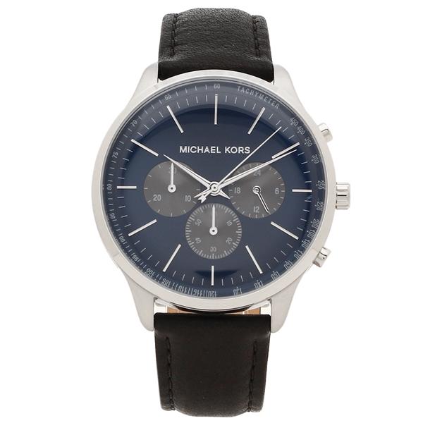 【72時間限定ポイント10倍】【返品OK】マイケルコース 腕時計 メンズ MICHAEL KORS MK8721 42MM ブラック ブルー