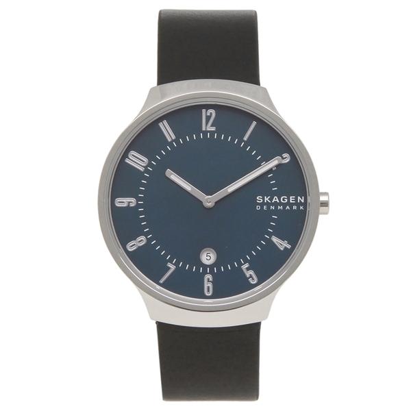 【返品OK】スカーゲン 腕時計 メンズ SKAGEN SKW6548 38MM ブラック ブルー