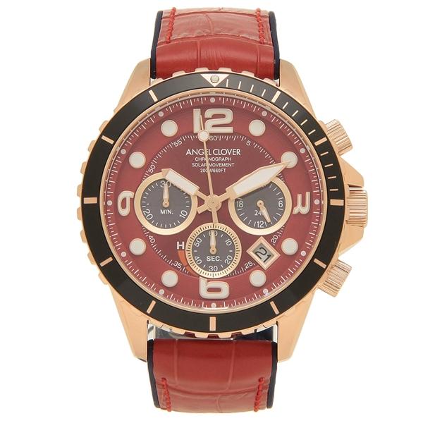 【返品OK】エンジェルクローバー 腕時計 メンズ ANGEL CLOVER TCD45PRE-RE 45MM レッド