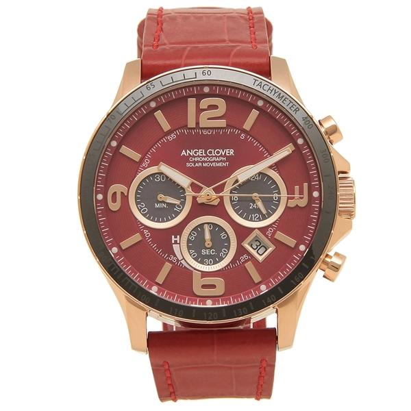 【返品OK】エンジェルクローバー 腕時計 メンズ ANGEL CLOVER TCS44PG-RE 44MM レッド