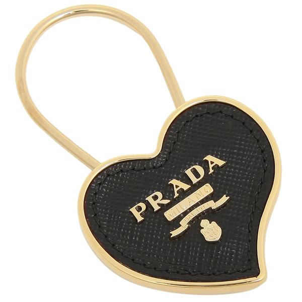 【4時間限定ポイント10倍】【返品OK】プラダ キーホルダー レディース PRADA 1PP047 053 F0002 ブラック