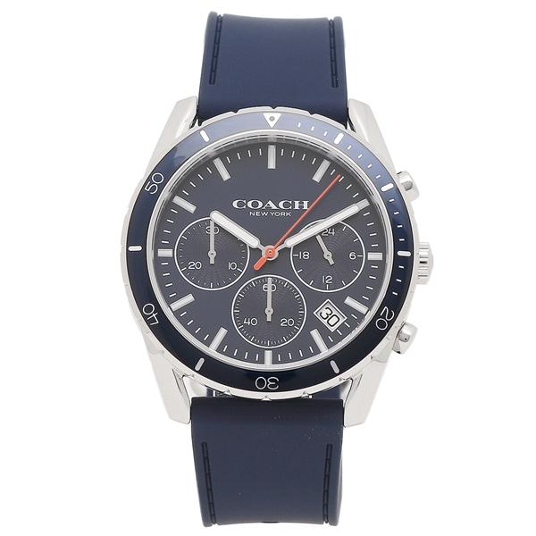 【返品OK】コーチ 腕時計 メンズ COACH 14602406 W1591 41MM ネイビー