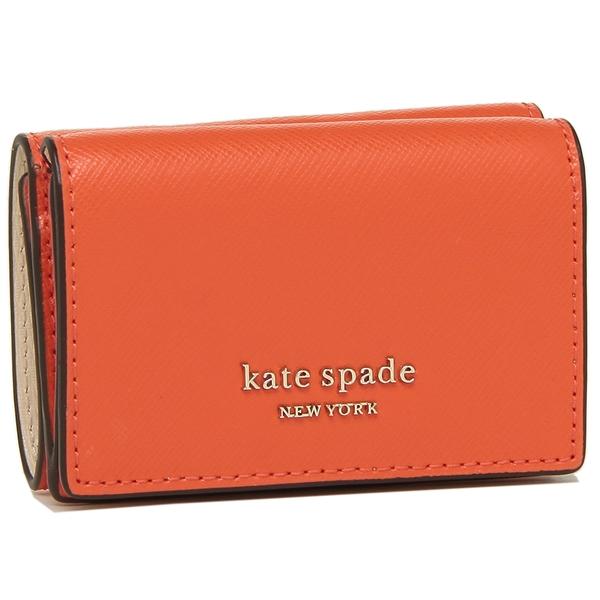 【4時間限定ポイント10倍】【返品OK】ケイトスペード 折財布 レディース KATE SPADE PWRU7854 620 オレンジ