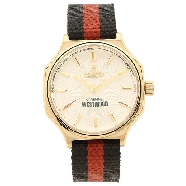 【6時間限定ポイント10倍】【返品OK】ヴィヴィアンウエストウッド 腕時計 メンズ VIVIENNE WESTWOOD VV227CPBK ゴールド マルチ