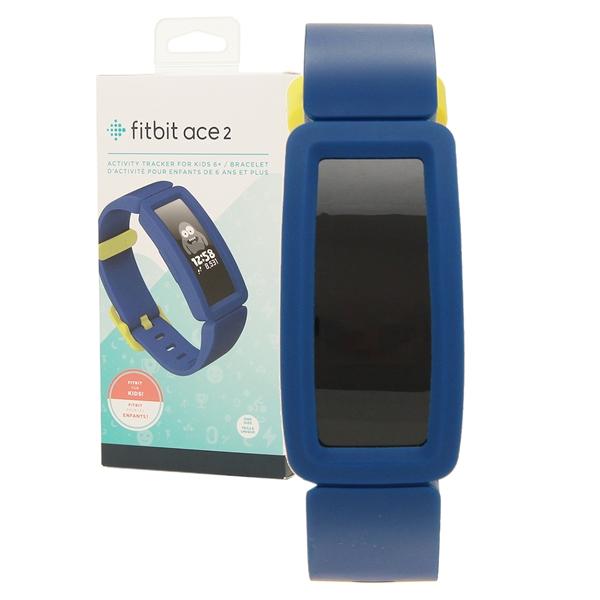 【返品OK】フィットビット 腕時計 スマートウォッチ レディース メンズ Fitbit FB414BKBU ブルー