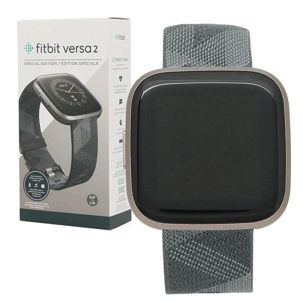 【6時間限定ポイント10倍】【返品OK】フィットビット 腕時計 スマートウォッチ レディース メンズ Fitbit FB507GYGY グレー ブラック