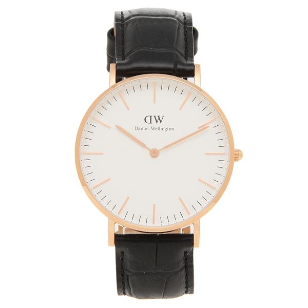 【72時間限定ポイント10倍】【返品OK】ダニエルウェリントン 腕時計 レディース メンズ Daniel Wellington DW00600041 ローズピンク ブラック