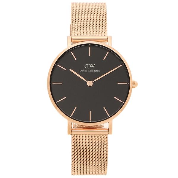 【返品OK】ダニエルウェリントン 腕時計 レディース Daniel Wellington DW00600161 ローズゴールド ブラック