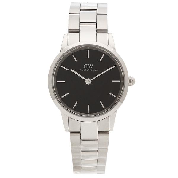 【返品OK】ダニエルウェリントン 腕時計 レディース Daniel Wellington DW00600208 シルバー ブラック