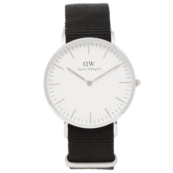 【返品OK】ダニエルウェリントン 腕時計 レディース メンズ Daniel Wellington DW00600260 ブラック シルバー