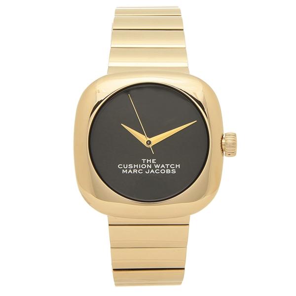 【6時間限定ポイント10倍】【返品OK】マークジェイコブス 腕時計 レディース MARC JACOBS MJ0120179298 THE CUSHION クッション 36MM ゴールド ブラック