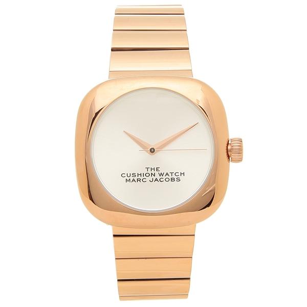 【返品OK】マークジェイコブス 腕時計 レディース MARC JACOBS MJ0120179299 THE CUSHION クッション 36MM ローズゴールド