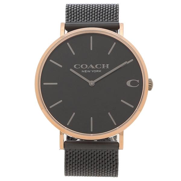 【返品OK】コーチ 腕時計 メンズ COACH 14602470 CHALS チャールズ 41MM ブラック