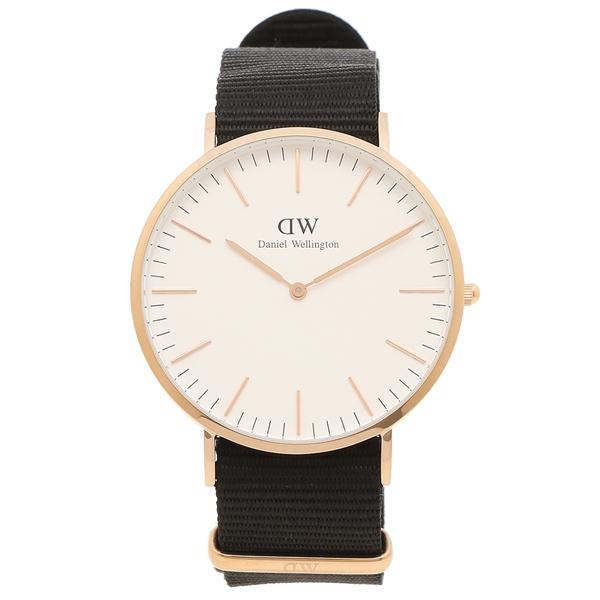【返品OK】ダニエルウェリントン 腕時計 メンズ Daniel Wellington DW00600257 CLASSIC CORNWALL クラシック コーンウォール 40MM ブラック ピンクゴールド