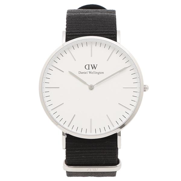 【返品OK】ダニエルウェリントン 腕時計 メンズ Daniel Wellington DW00600258 CLASSIC CORNWALL クラシック コーンウォール 40MM ブラック シルバー