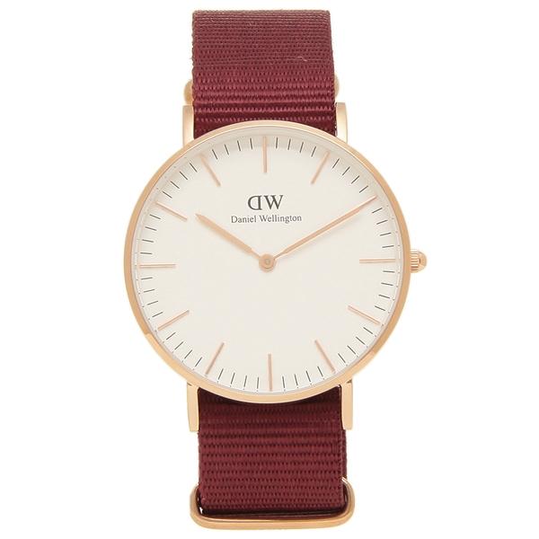 【返品OK】ダニエルウェリントン 腕時計 レディース メンズ Daniel Wellington DW00600271 ROSELYN ロゼリン 36MM レッド ピンクゴールド