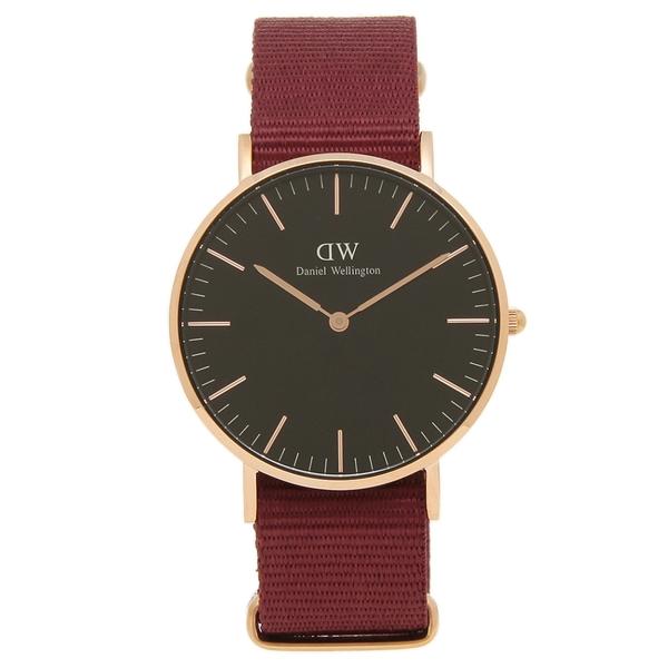 【6時間限定ポイント10倍】【返品OK】ダニエルウェリントン 腕時計 レディース メンズ Daniel Wellington DW00600273 CLASSIC クラシック ROSELYN ロゼリン 36MM ブラック レッド