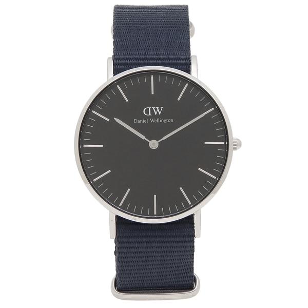 【6時間限定ポイント10倍】【返品OK】ダニエルウェリントン 腕時計 レディース メンズ Daniel Wellington DW00600282 CLASSIC BAYSWATER クラシック ベイズウォーター 36MM ブラック ネイビー