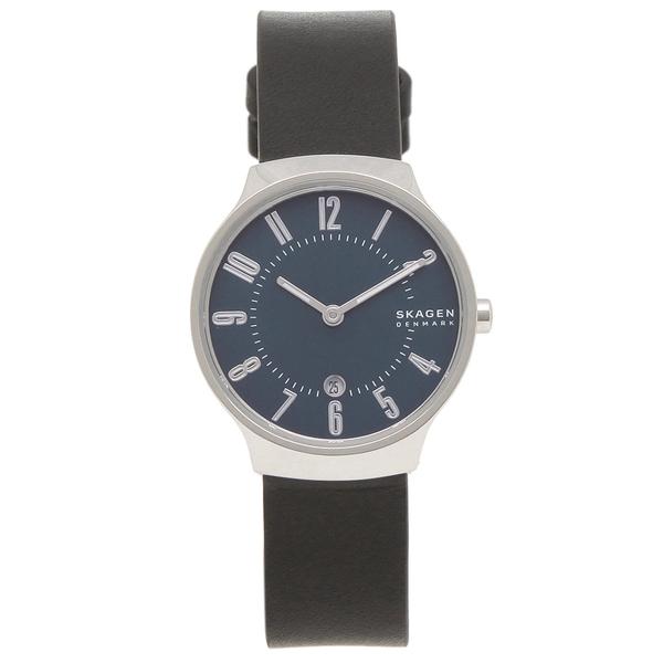 【6時間限定ポイント10倍】【返品OK】スカーゲン 腕時計 レディース SKAGEN SKW2807 GRENEN グレーネン 28MM ブルー ブラック