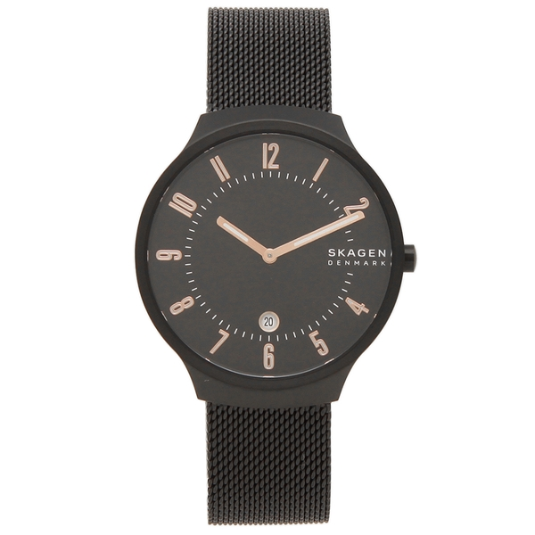 【返品OK】スカーゲン 腕時計 メンズ SKAGEN SKW6547 GRENEN グレーネン メッシュ 38MM ブラック