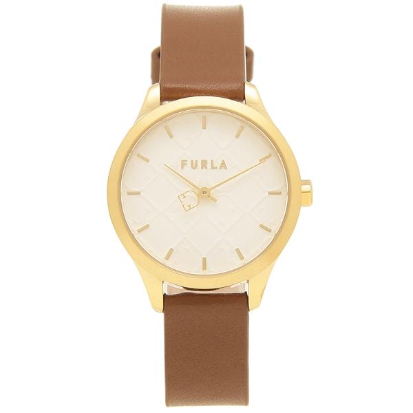 【返品OK】フルラ 腕時計 レディース FURLA R4251131508 ブラウン/ゴールド