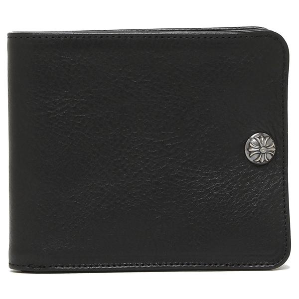 【4時間限定ポイント10倍】【返品OK】クロムハーツ折財布メンズCHROMEHEARTS116472BLACKブラック