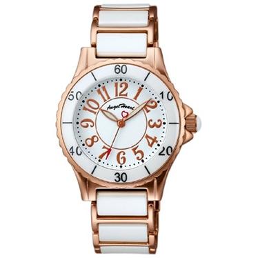 【2時間限定ポイント10倍】エンジェルハート Angel Heart 時計 腕時計 Angel Heart エンジェルハート ラブスポーツ WL33CPG レディース時計 腕時計/ウォッチ/WATCH ホワイト