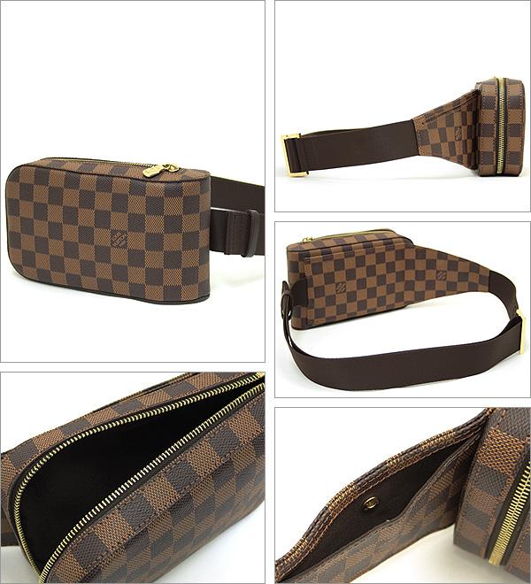 Louis Vuitton LOUIS VUITTON bag shoulder bag Damier Louis Vuitton bag LOUIS VUITTON N51994 Damier Jeronimos waist bag shoulder bag