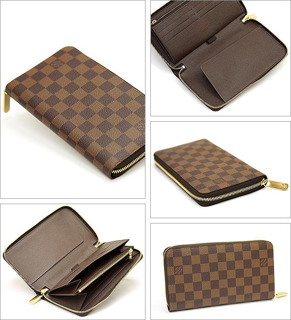 路易 · 威登 Louis Vuitton N60003 双色格子组织者钱包