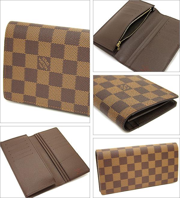루이비통 LOUIS VUITTON장 지갑 다미에 지갑 루이비통 지갑 LOUIS VUITTON N60017 다미에포르트포이유브라자장 지갑